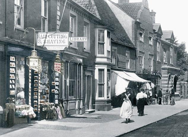 Southwold, High Street 1896
