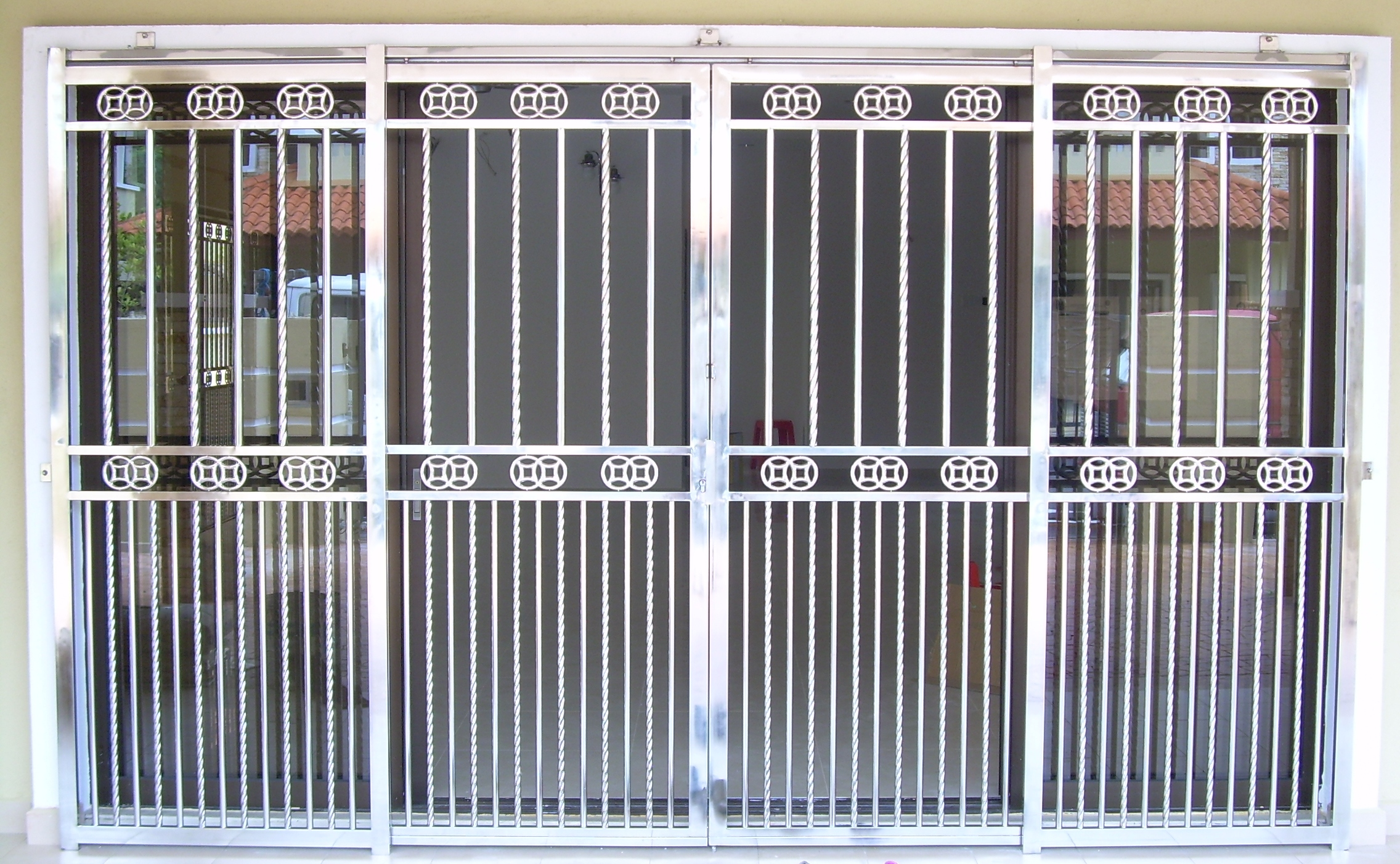 Choosing Materials For Your Door Of Windows Grilles