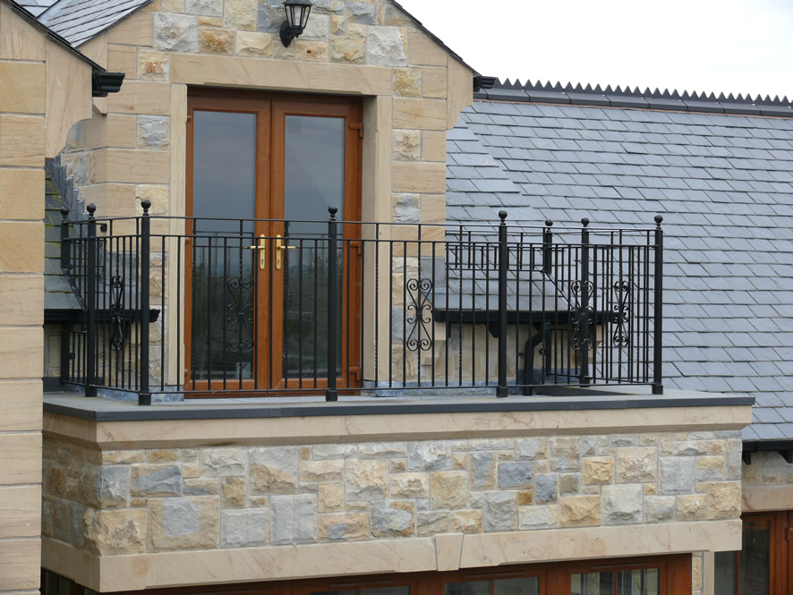 The importance of balcony railings for Exterior balcony design